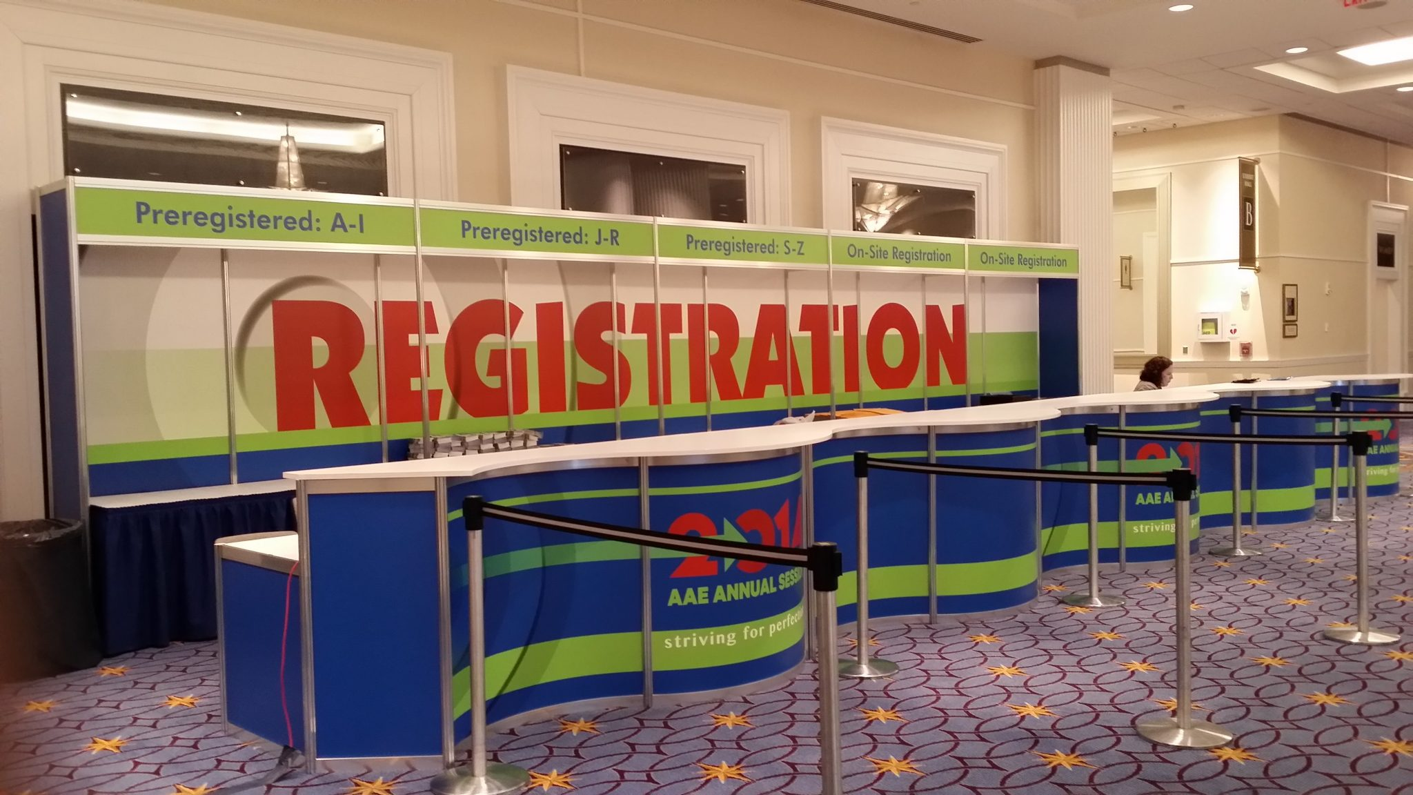 AAE14 Registration